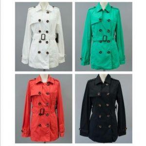 Cavalini Jackets & Coats - Women's Coral Coat Lightweight Jacket Peacoat